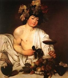Dioniso Bacco Caravaggio