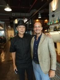 Matteo visita un importatore in Malesia