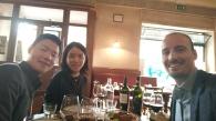 A Milano, degustazione con un potenziale partner sudcoreano